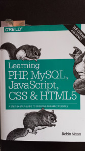 Cover Learning PHP, MySQL, JavaScript, CSS & HTML5