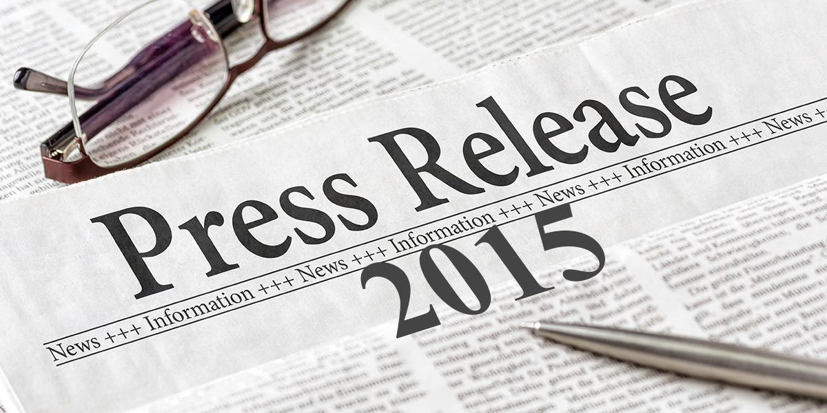 News Releases 2015
