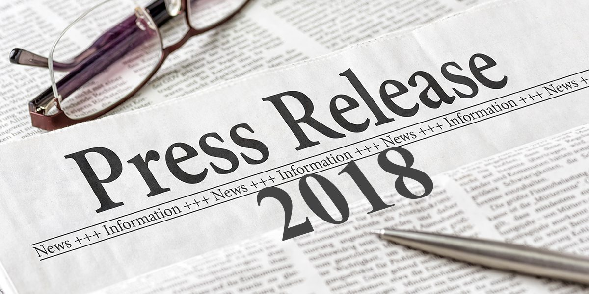 News Releases 2018