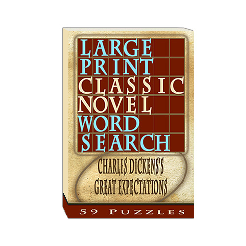 Buy Large Print Classic Novel Word Search - Charles Dickesn's Great Expectations