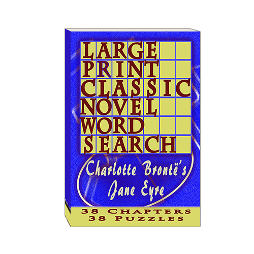 Buy Large Print Classic Novel Word Search - Charlotte Bronte's Jane Eyre
