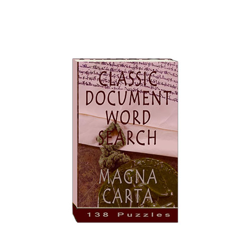 Buy Classic Document Word Search - Magna Carta