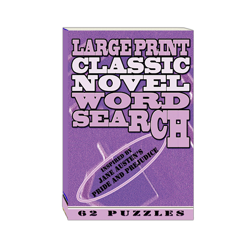 Buy Large Print Classic Novel Word Search - Jane Austen's Pride and Prejudice