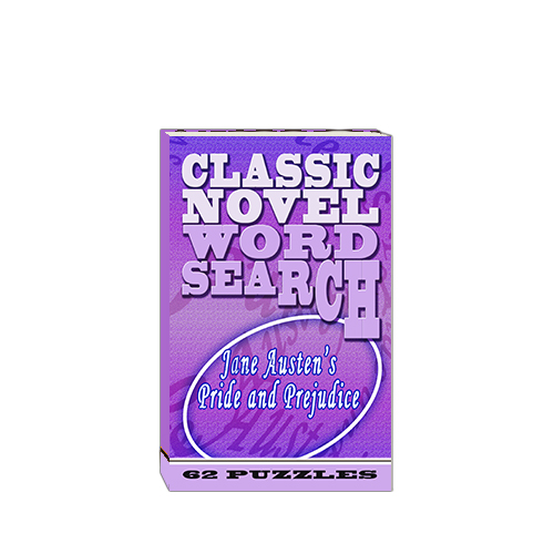 Buy Classic Novel Word Search - Jane Austen's Pride and Prejudice