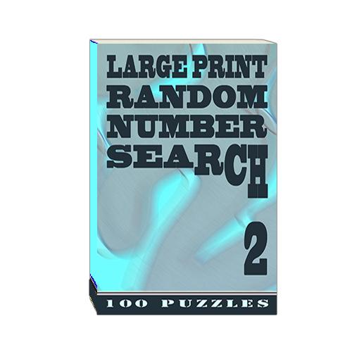 Buy Large Print Random Number Search 2