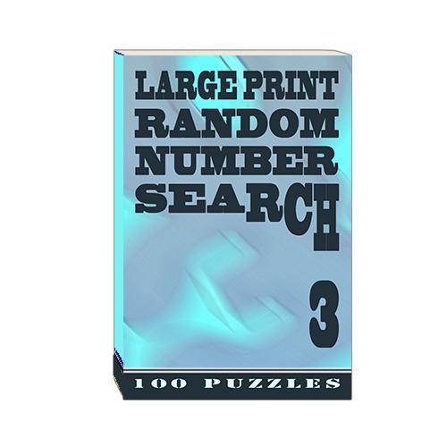 Buy Large Print Random Number Search 3