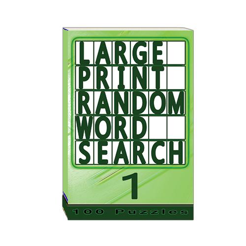 Buy Large Print Random Word Search 1