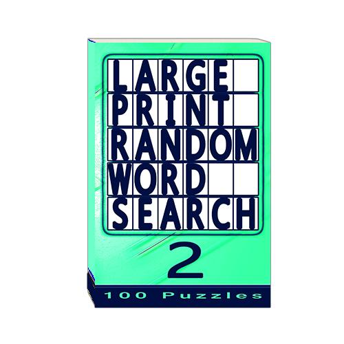 Buy Large Print Random Word Search 2