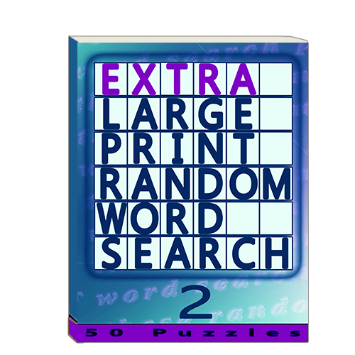 Buy Extra Large Print Random Word Search 2