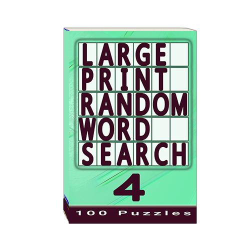 Buy Large Print Random Word Search 4