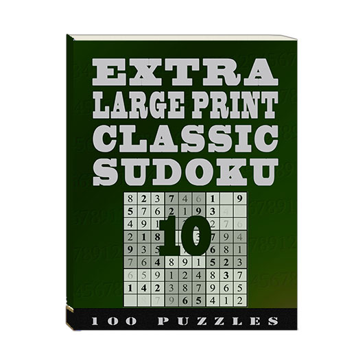 Buy Extra Large Print Classic Sudoku 10