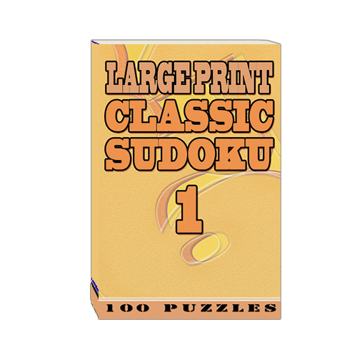 Buy Large Print Classic Sudoku 1
