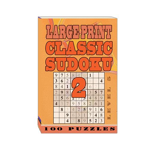 Buy Large Print Classic Sudoku 2