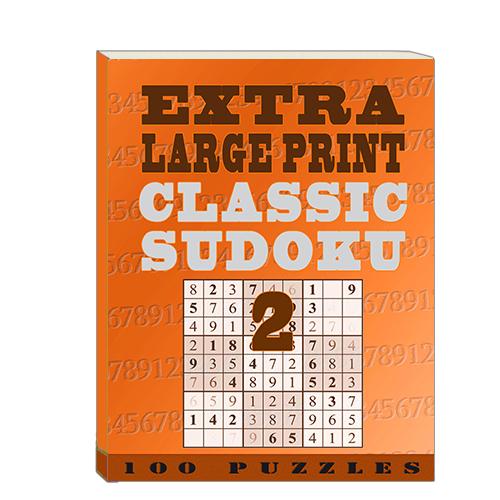 Buy Extra Large Print Classic Sudoku 2