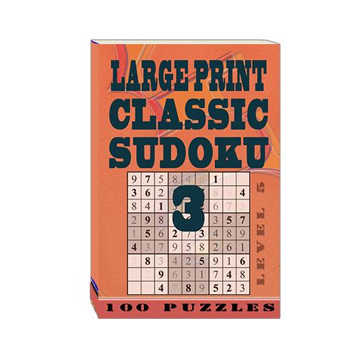Buy Large Print Classic Sudoku 3