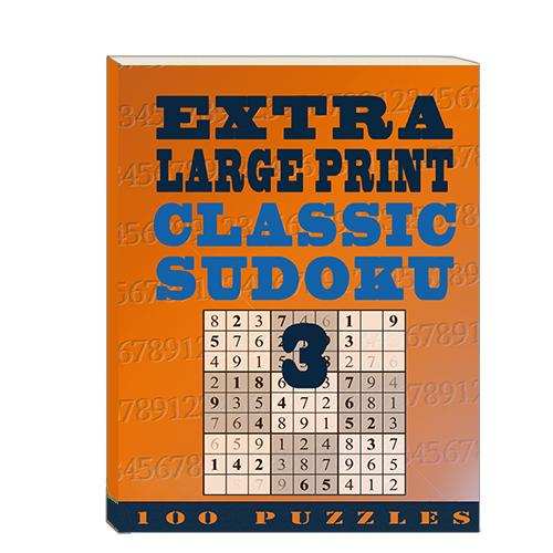 Buy Extra Large Print Classic Sudoku 3