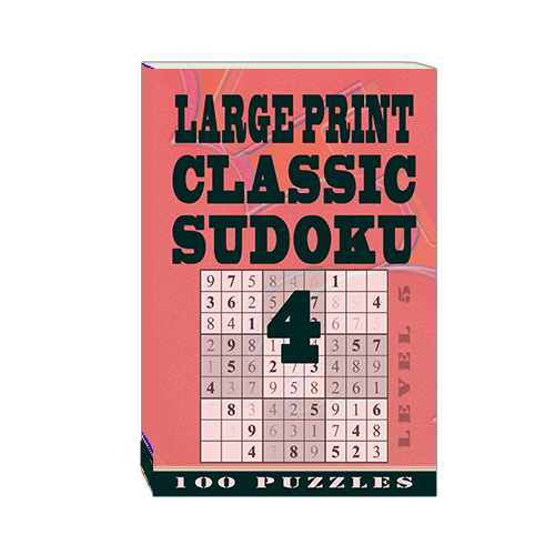 Buy Large Print Classic Sudoku 4