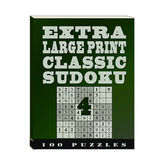 Buy Extra Large Print Classic Sudoku 4