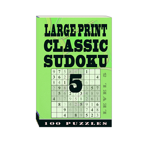 Buy Large Print Classic Sudoku 5