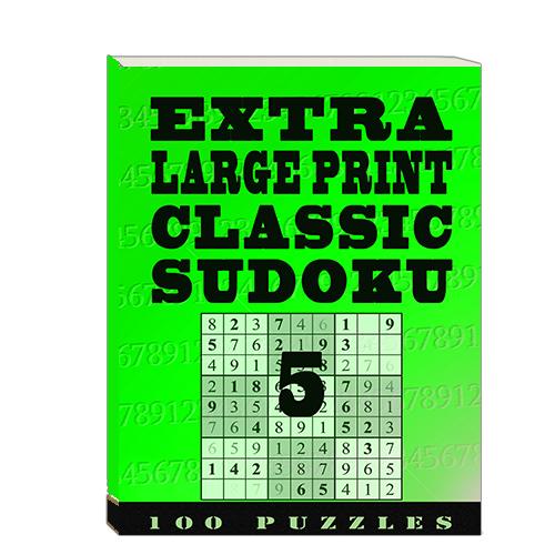 Buy Extra Large Print Classic Sudoku 5