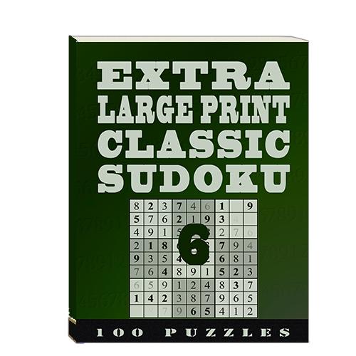 Buy Extra Large Print Classic Sudoku 6