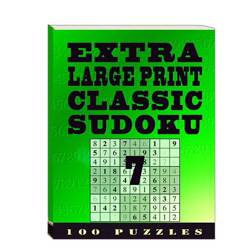Buy Extra Large Print Classic Sudoku 7