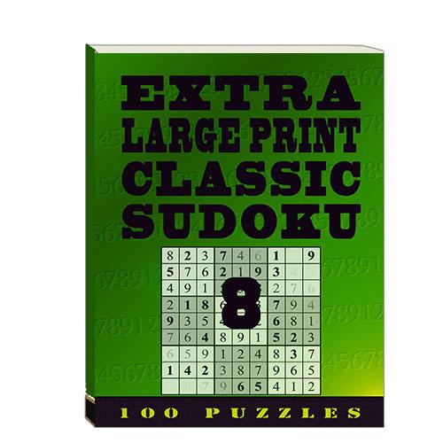 Buy Extra Large Print Classic Sudoku 8