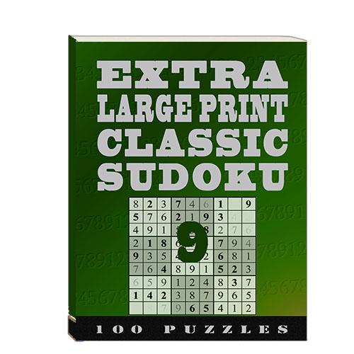 Buy Extra Large Print Classic Sudoku 9